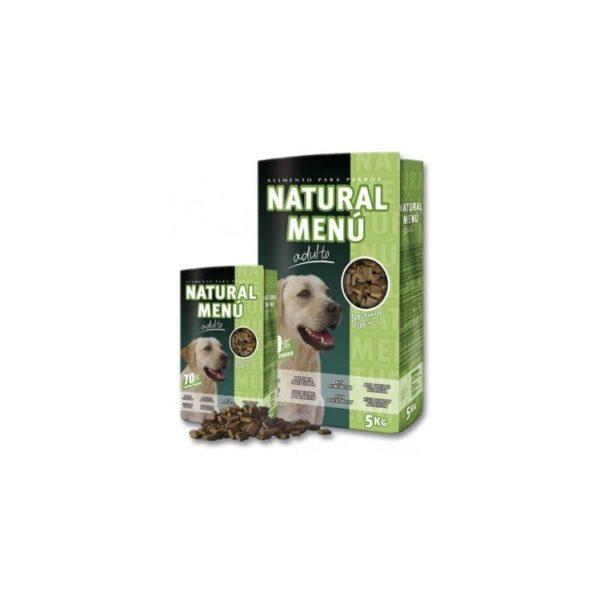 Pienso semi húmedo para perros Natural Menú adulto
