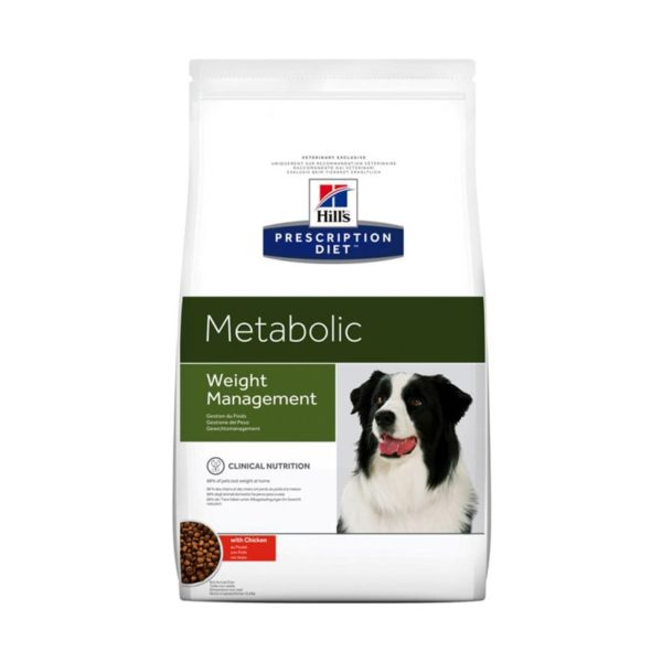 Alimento dietético para perros Hill's metabolic