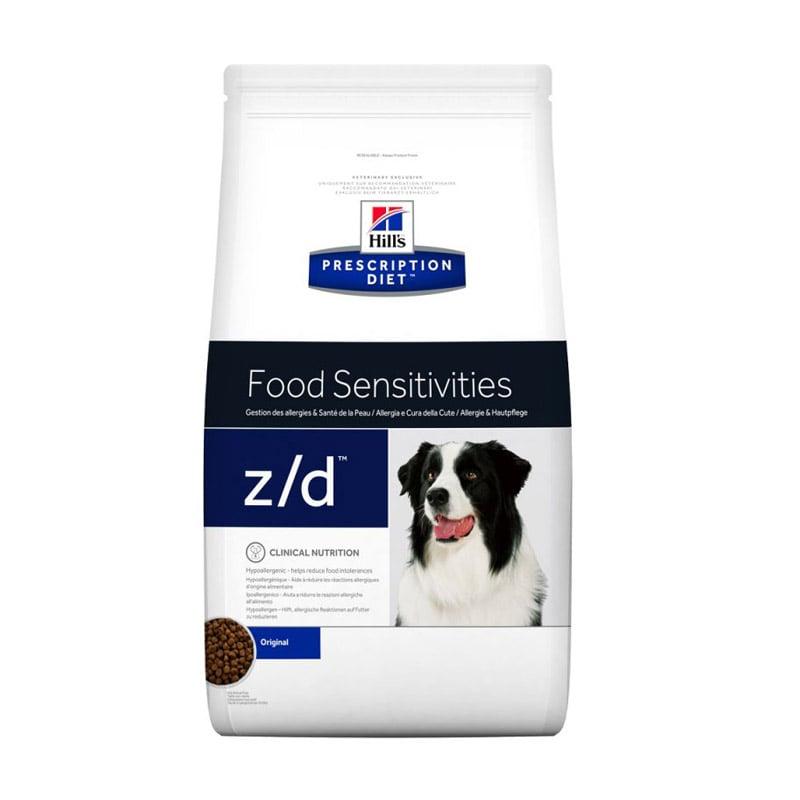 Pienso para perros con alergias alimentarias Hill's PD Canine Z/d