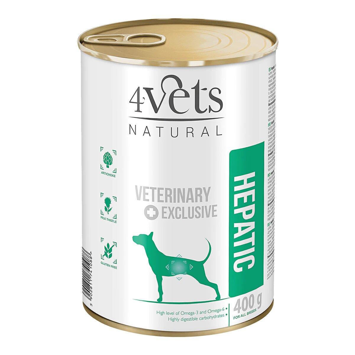 Comida para perros con problemas hepáticos Hepatic 4vets natural